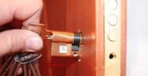 Замена личинок замка двери в москве - круглосуточно!